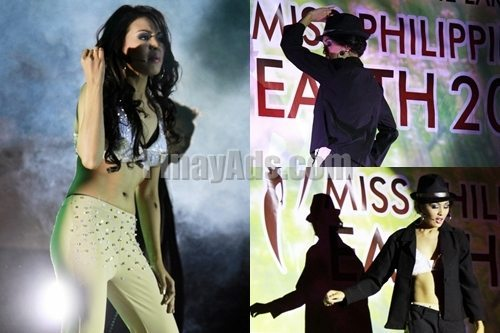 Miss Philippines Earth 2011 Pre Pageant Talent Portion 1