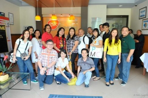 Bloggers/Media at GSK Plant