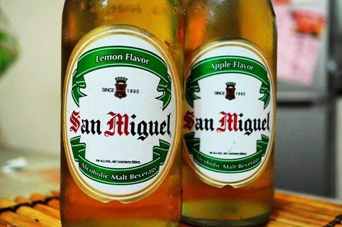 San Miguel Lemon & Apple