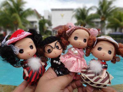 "Our ""Mini Me"" (Iris A, Iris P., Jennie, and Mauie)"