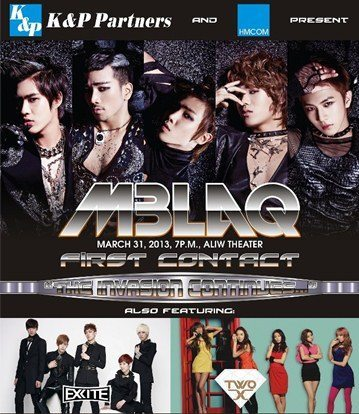 MBLAQ COncert in Manila Cancelled