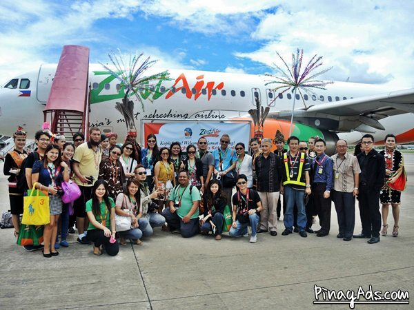 Zest Air now flies from Manila to Kota Kinabalu