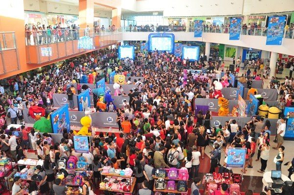 Thousands of shoppers attended the SM Supermalls' SM Toonfest launch