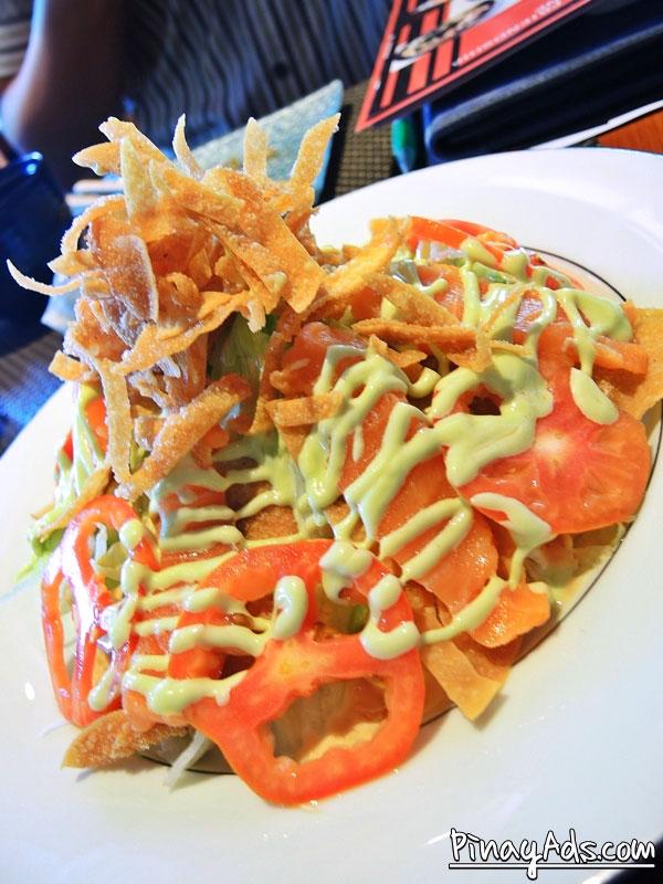 Tonchaya Special Crunchy Salmon Salad Php 295