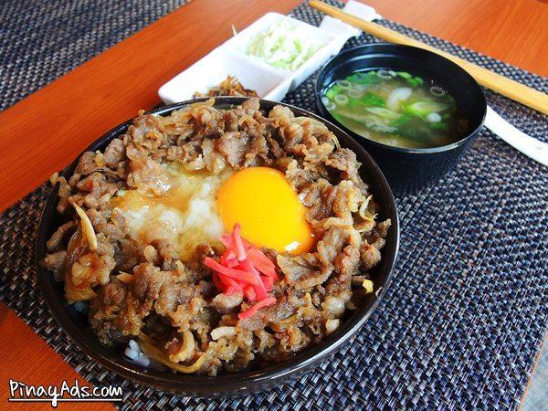 Tonchaya's Gyudon Php 380