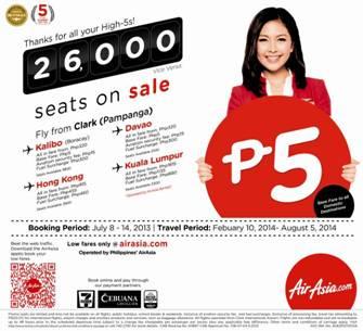AirAsia celebrates 5th World's Best Title with 2 million Promo Seats