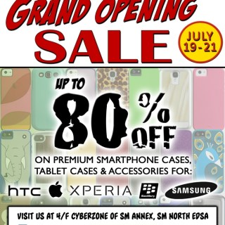 Case-Mate Kiosk Grand Opening, Up to 80% Off On Premium Smarphone Cases