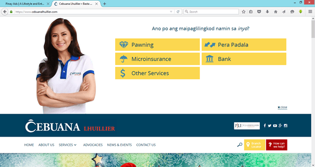 Cebuana Lhuillier Levels up with a One-Stop Website