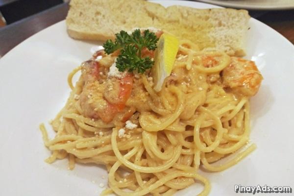 Shrimp Scampi Alfredo