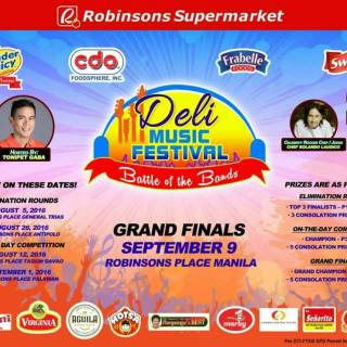 Robinsons Supermarket 'Deli Music Festival' Grand Finals