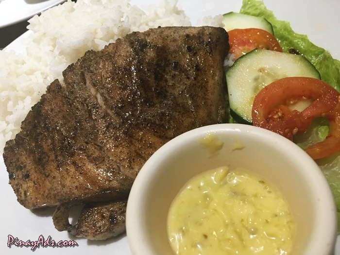Grilled Blue Marlin (Php 225)