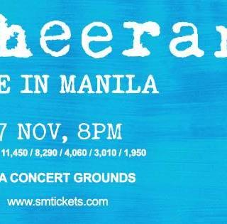 Ed Sheeran Live in Manila | November 7, 2017 | MOA Concert Grounds