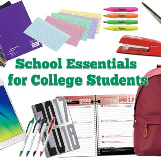 School Essentials for College Students