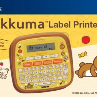 Brother introduces special Rilakkuma Character Label Printer