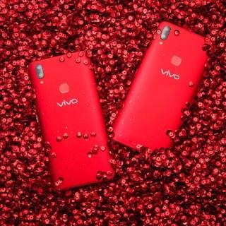 LOOK: Vivo V9 stuns in elegant Velvet Red