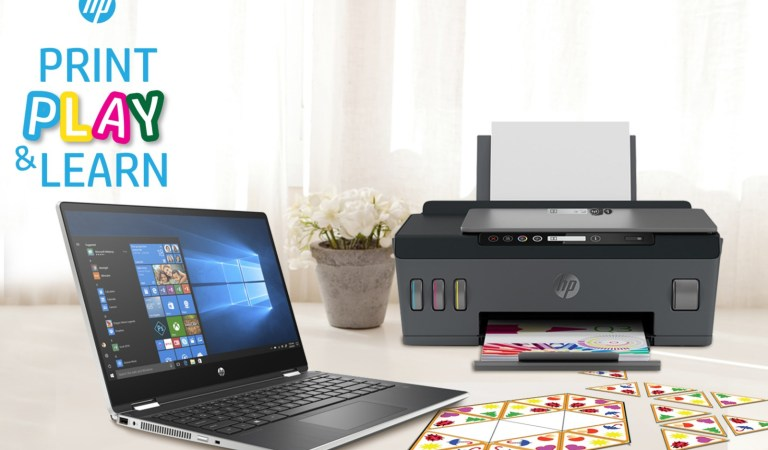 HP learn from home essentials boost kids' education
