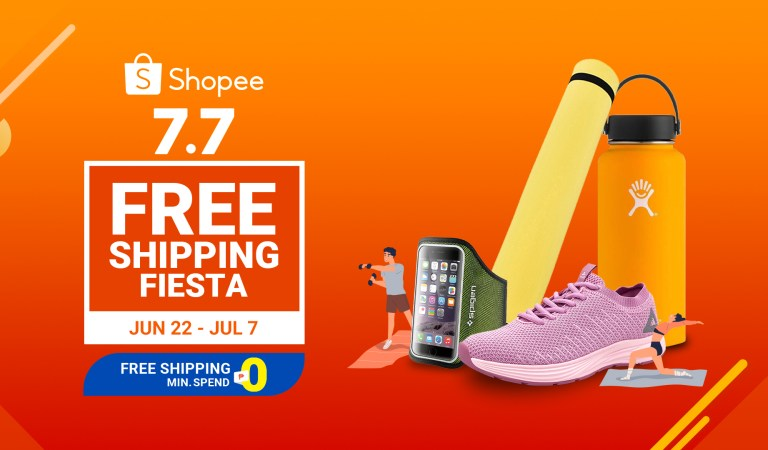 Achieve Your #FitnessGoals with These 7 Items from the Shopee 7.7 Free Shipping Fiesta