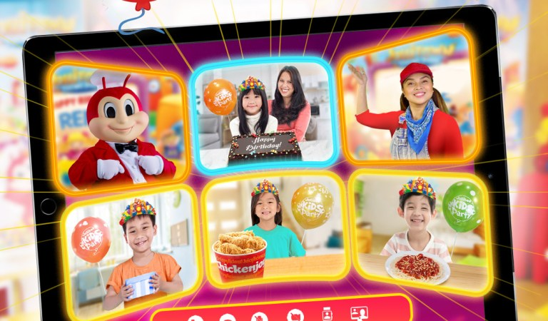 Experience the most joyful celebrations with the Jollibee Virtual Party
