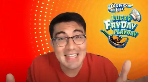 #CrispyFryPlayDay: Crispy Fry introduces new endorser Luis Manzano