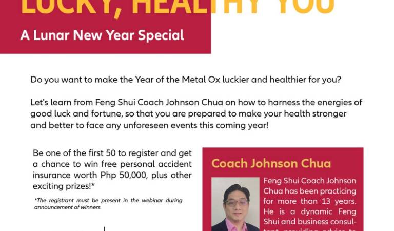 Allianz PNB Life Looks Toward a Healthier 2021 with Feng Shui Expert Johnson Chua