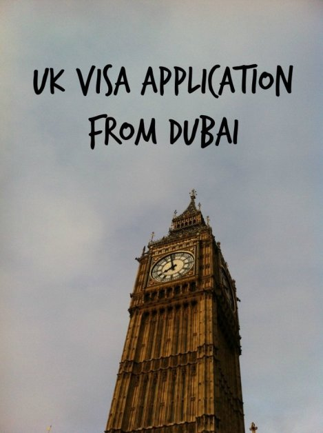 UK Visa Application from Dubai