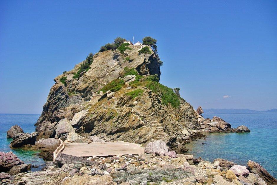 Agios Ioannis Sto Kastri, Skopelos, Greece