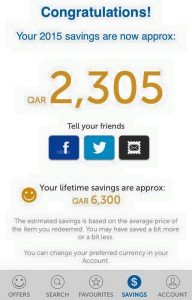 The Entertainer Qatar Savings