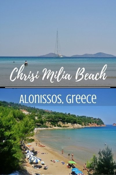 Chrisi Milia Beach, Alonissos, Greece