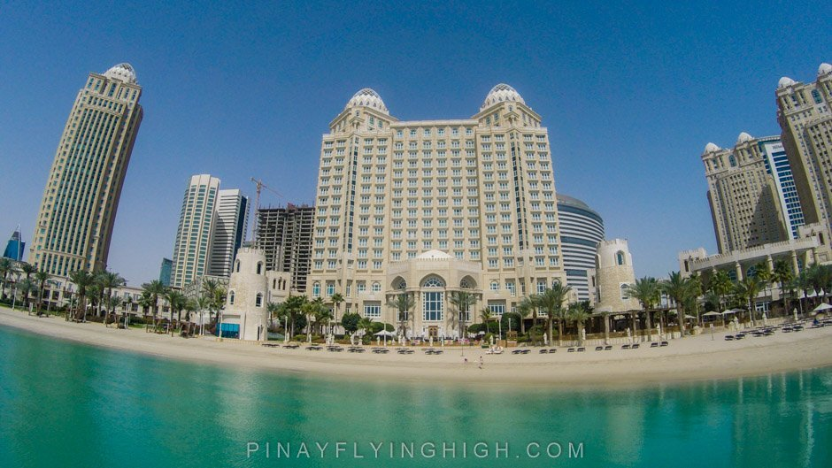 Pool and beach access at Four Seasons Doha, PinayFlyingHigh.com-19