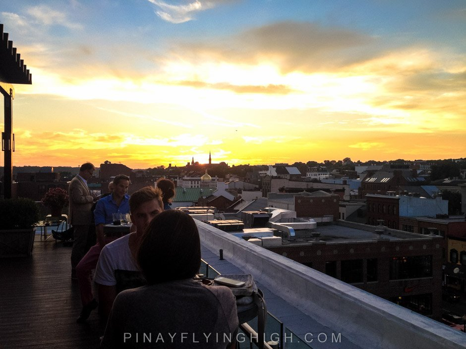 The Observatory Rooftop Lounge, Washington DC
