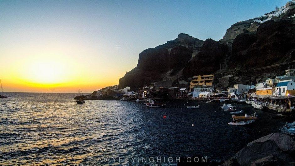 Ammoudi Bay, SAntorini, Greece, - PinayFlyingHigh.com