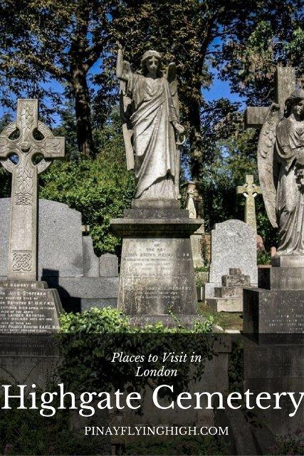 Highgate Cemetery, London - PinayFlyingHigh