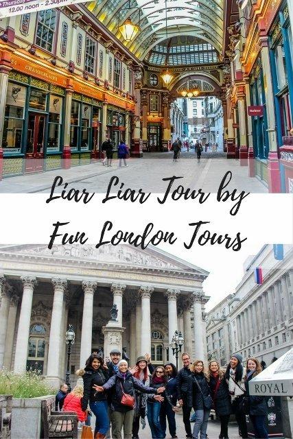 Unique Tours in London: Liar Liar Tour by Fun London Tours