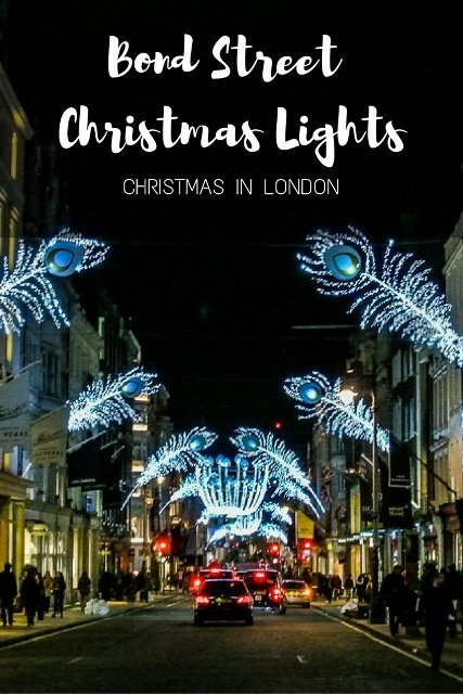 BOND ST LONDON CHRISTMAS LIGHTS - PinayFlyingHigh.com