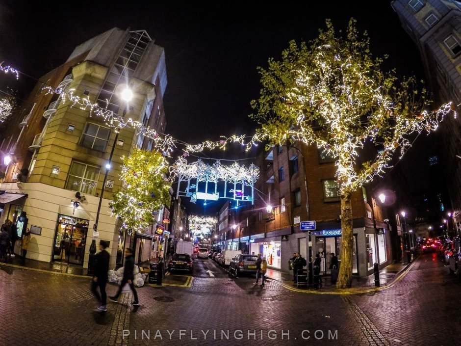 Seven Dials Christmas Lights, London - PinayFlyingHigh.com