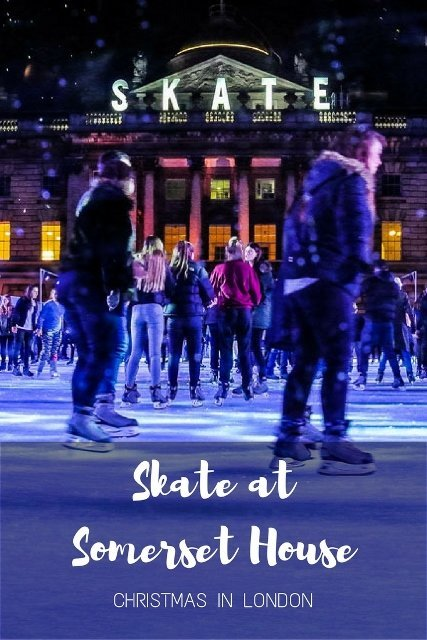 Skate at Somerset House, London