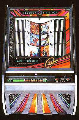 RockOla Comet 8500 Wall Mount CD Jukebox of 19981999 at