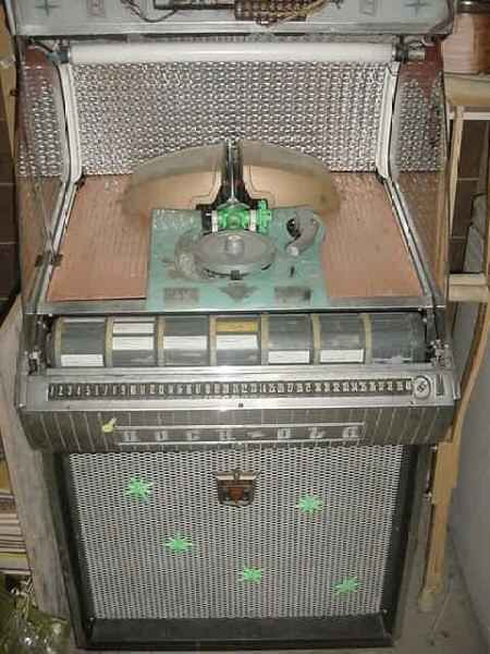 RockOla Jukebox Model 1458 of 1958 at wwwpinballrebelcom