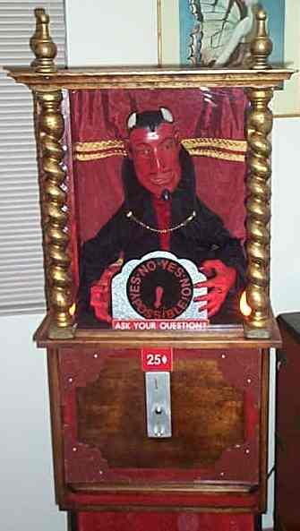 Devil Arcade Fortune Teller Machine At wwwpinballrebelcom