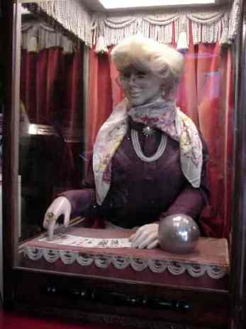 Vintage Munves Fortune Teller Arcade Machine At
