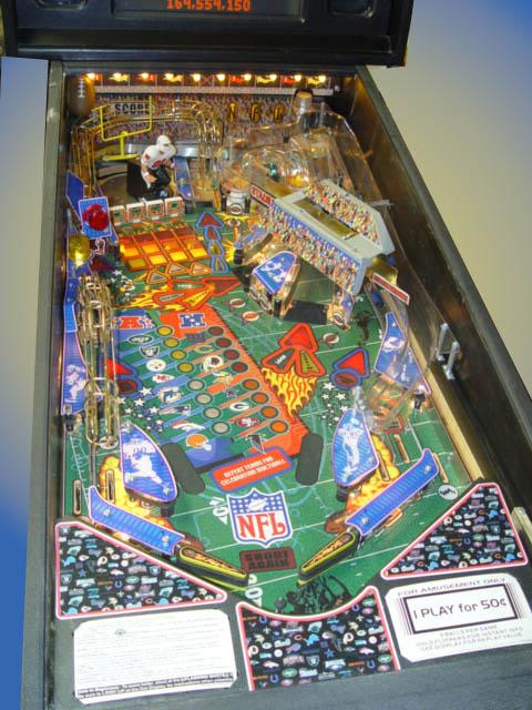 NFL Denver Bronco Pinball