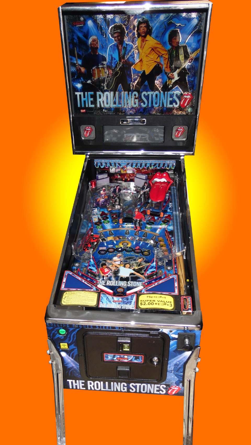 Rolling Stones pro pinball
