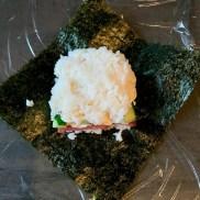 Zubereitung Onigirazu III