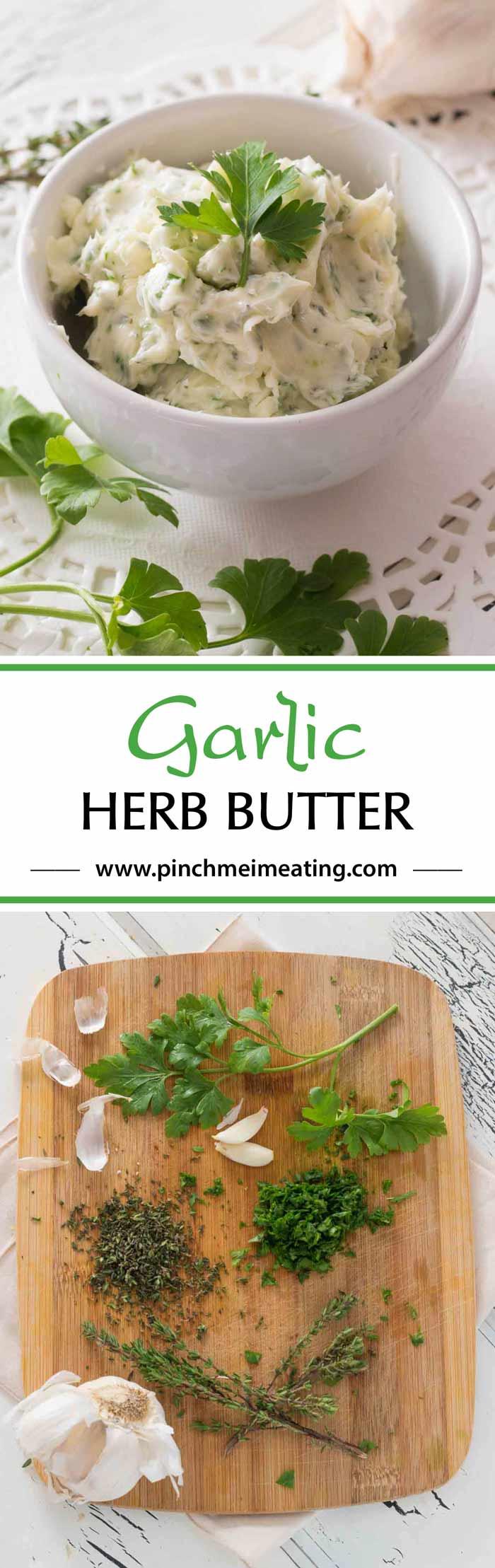 Garlic-herb-butter