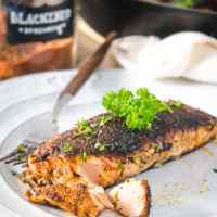 The Best 10-Minute Crispy-Skinned Blackened Salmon