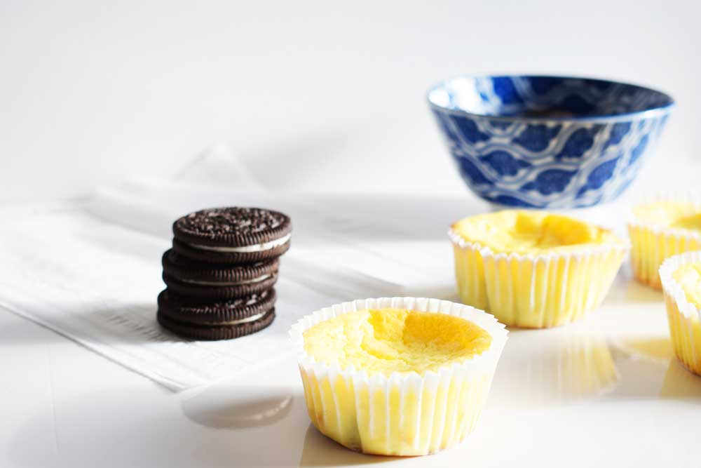 Healthy-ish oreo cheesecake