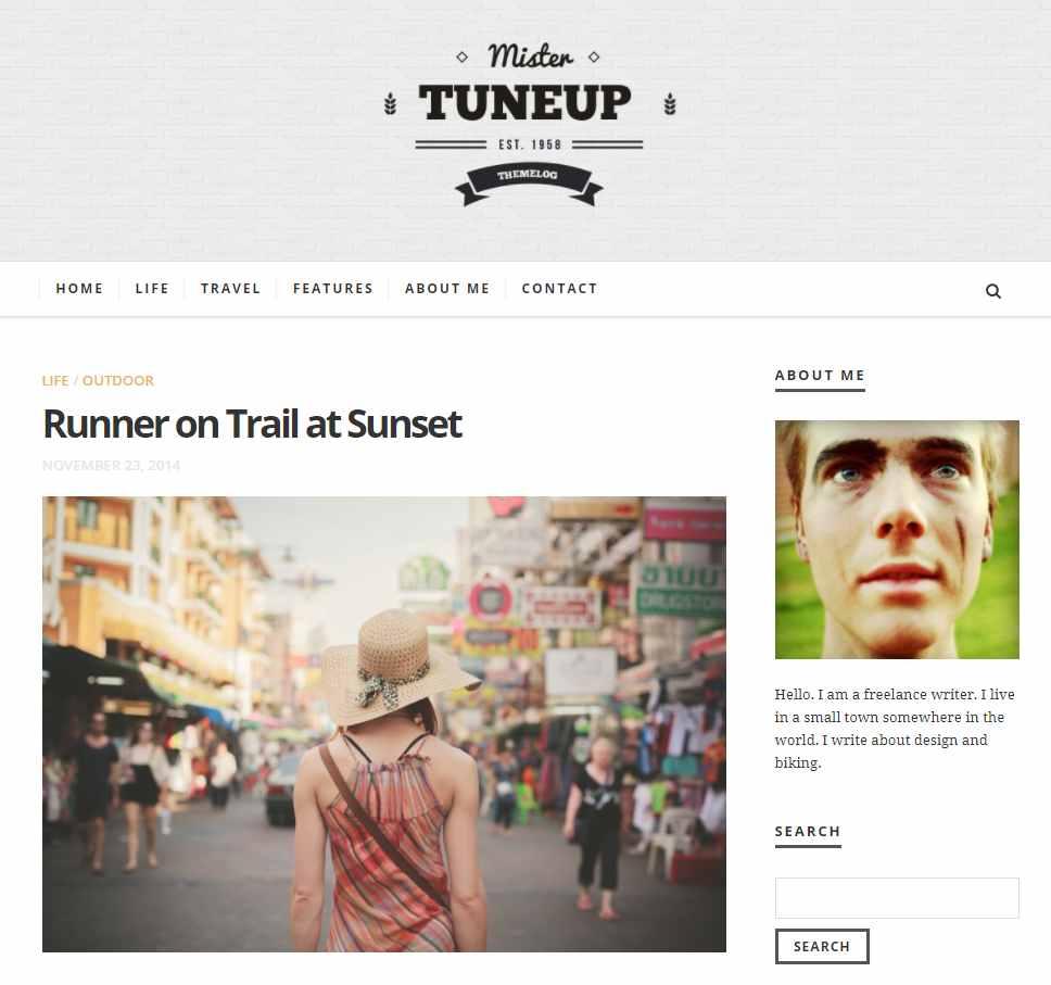 TuneUp - WordPress Theme