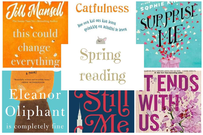 6 fijne en luchtige boeken om in het lentezonnetje te lezen