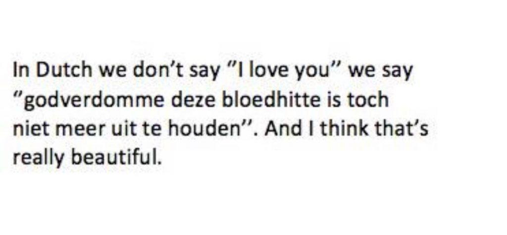 Nederlandse hitte meme