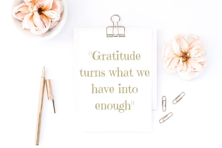 Dankbaarheid oefenen